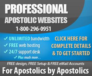MyApostolicWebsite.com - Apostolic Web Design Services